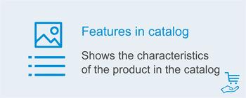 Отображение характеристик в каталоге, фото