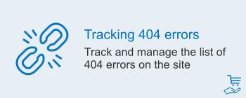 Отслеживание ошибок 404, фото