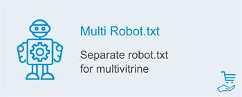 Separate robots.txt for each showcase, image