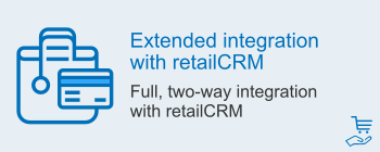 Extended integration with retailCRM, image