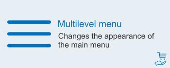 Multilevel menu, image